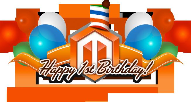 Souhaitons une bonne continuation au projet Magento !