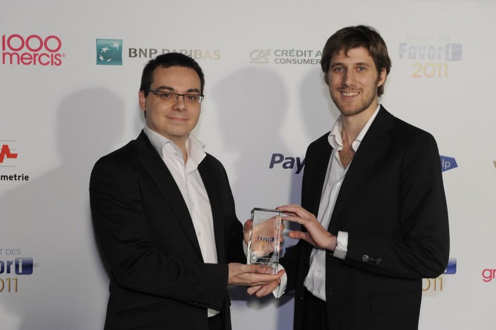 Benoit Gaillat et Romain Boyer, meilleur Blog Ecommerce