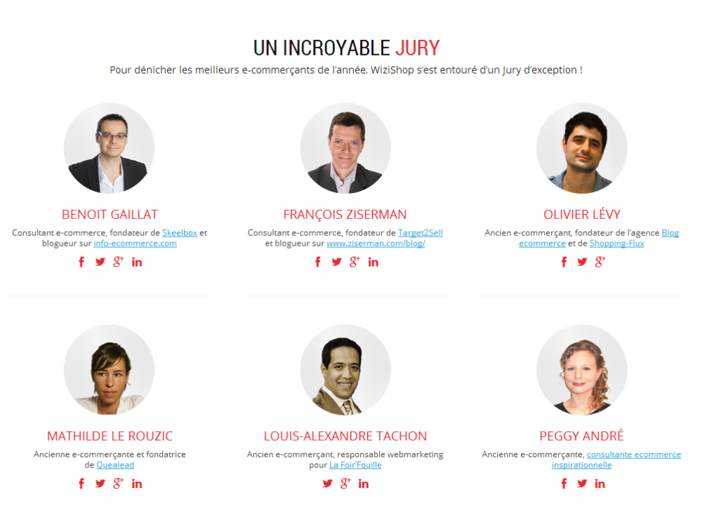 Jury La France a un Incroyable Ecommerçant